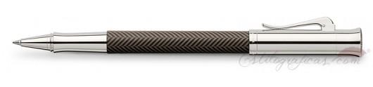 Roller Graf von Faber-Castell Guilloche Ciselé Marrón