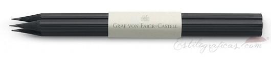 3 lápices largos de cedro negro GvFC