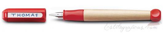 Estilográfica Lamy abc Rojo