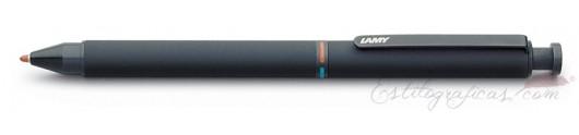 Bolígrafo Lamy ST Tri Pen Black