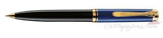 Bolígrafo Pelikan Souverän K 600 Azul y Negro