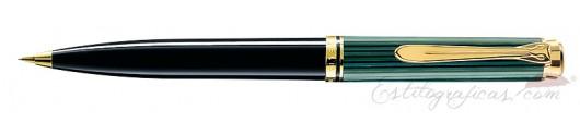 Portaminas Pelikan Souverän D 600 Negro Y Verde