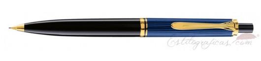 Portaminas Pelikan Souverän D 400 Negro y Azul