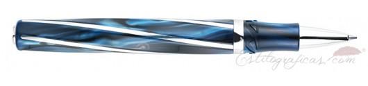 Rollerball Visconti Divina Elegance Blue Oversize