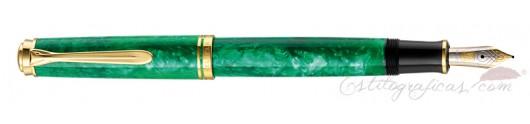 Estilográfica Pelikan Souverän M600 Verde Vibrante