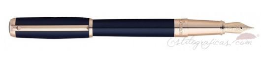 Estilográfica ST Dupont Line D Azul Elysee