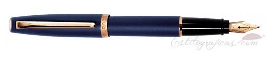Estilográfica Aurora Style resina mate azul GT