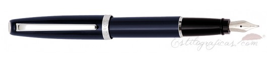 Estilográfica Aurora Style resina azul CT