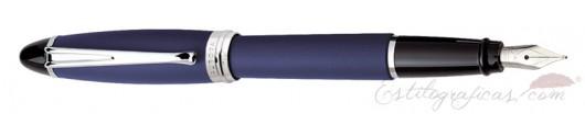 Estilográfica Aurora Ipsilon Satin Azul