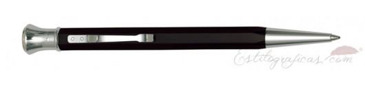 Bolígrafo Aurora Permanento negro cromo