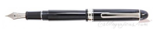 Estilográfica Platinum Century 3776 Black Diamond