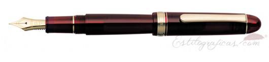 Estilográfica Platinum Century 3776 Bourgogne