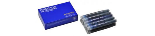 Cartuchos de tinta pigmentada Platinum azul