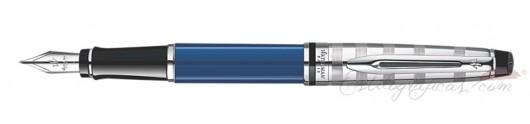 Estilográfica Waterman Expert Deluxe Blue CT