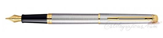 Estilográfica Waterman Hemisphere Stainless Steel GT