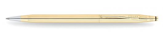 Bolígrafo Cross Classic Century Laminado en Oro de 18 quilates