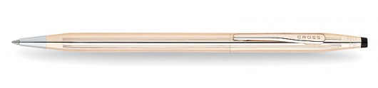 Bolígrafo Cross Classic Century Laminado en Oro de 14 quilates
