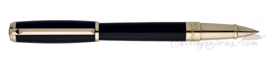 Roller ST Dupont Line D Negro Oro