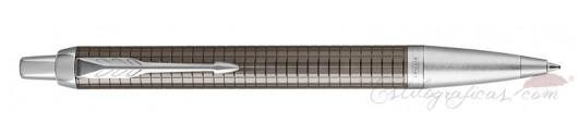 Bolígrafo Parker IM Premium Espresso Oscuro Cincelado CT