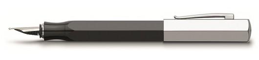 Estilográfica Faber-Castell Ondoro Resina Negra
