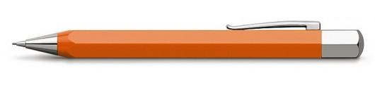 Portaminas Faber-Castell Ondoro Resina Naranja
