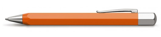 Bolígrafo Faber-Castell Ondoro Resina Naranja