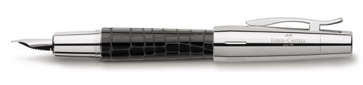 Estilográfica Faber-Castell E-motion Croco Negro