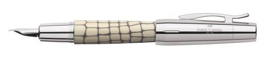 Estilográfica Faber-Castell E-motion Croco Marfil
