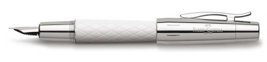 Estilográfica Faber-Castell E-motion Guilloqueado Rhombus