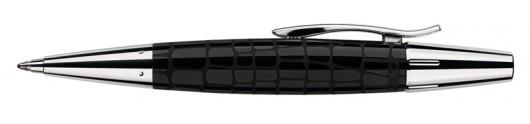 Bolígrafo Faber-Castell E-motion Croco Negro