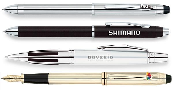 Regalos de empresa. Bolígrafos y plumas estilográficas.