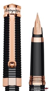 Plumín y capuchón de estilográfica NeroUno Linea Oro Rosa