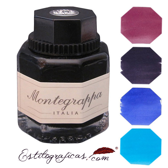 Tinteros Montegrappa en cuatro colores IA00I0UC