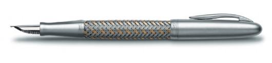 Estilográfica Tec Flex P 3110 Acero y Oro Porsche Design