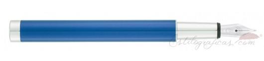 Estilográfica Waldmann Cosmo Ice Blue