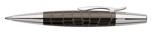 Bolígrafo Faber-Castell E-motion Croco Marrón