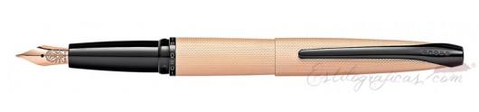 Estilográfica Cross ATX Oro Rosa Cepillado