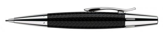 Portaminas Faber-Castell E-motion Trenzado Negro