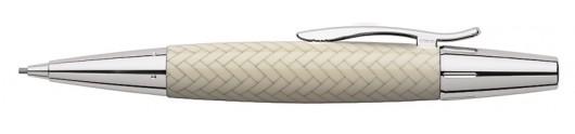 Portaminas Faber-Castell E-motion Trenzado Marfil