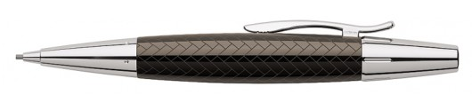 Portaminas Faber-Castell E-motion Trenzado Marrón