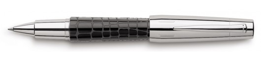 Roller Faber-Castell E-motion Croco Negro