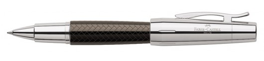 Roller Faber-Castell E-motion Trenzado Marrón