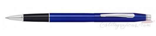 Rollerball Cross Classic Century Laca Azul Translúcida