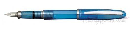 Estilográfica Platinum Balance Crystal Blue