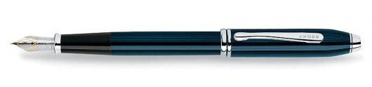 Estilográfica Cross Townsend Azul Cuarzo