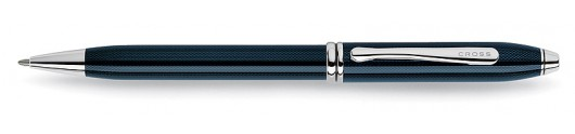 Bolígrafo Cross Townsend Azul Cuarzo