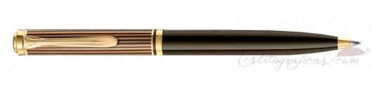 Bolígrafo Pelikan Souverän K800 Brown-Black
