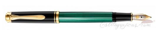 Estilográfica Pelikan Souverän M 300 Negro y Verde