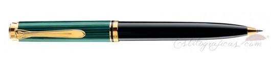 Bolígrafo Pelikan Souverän K 300 Negro y Verde