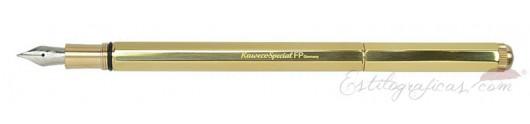 Estilográfica Kaweco Special Latón Dorado